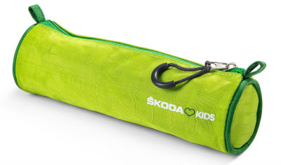 Детский пенал Skoda Kids, Pen and Pencil Case, Green