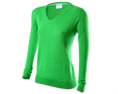 Женский пуловер Skoda Ladies Pullover, Green, RUS
