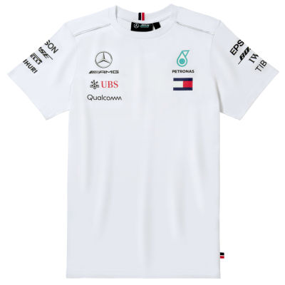 Мужская футболка Mercedes AMG Petronas Men's T-shirt, Driver 2018, White