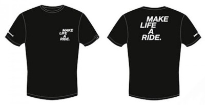 Женская футболка BMW Motorrad T-shirt Ladies, Make Life A Ride, Black