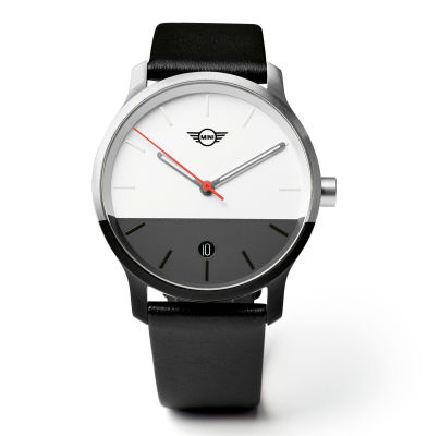 Наручные часы унисекс MINI Colour Block Watch Unisex, Black/White
