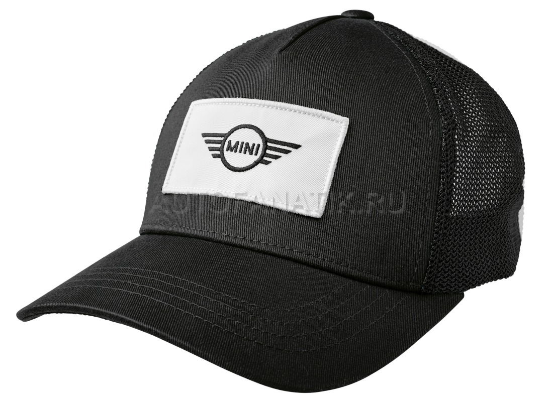 6ad6fed19e1 Бейсболка унисекс MINI Logo Patch Trucker Cap