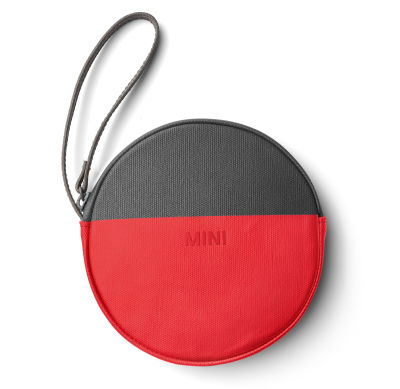 Кошелек MINI Round Colour Block Pouch, Coral/Grey