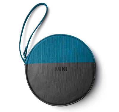Кошелек MINI Round Colour Block Pouch, Island/Black