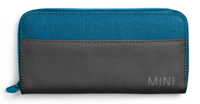 Мини кошелек MINI Colour Block Wallet, Island/Black