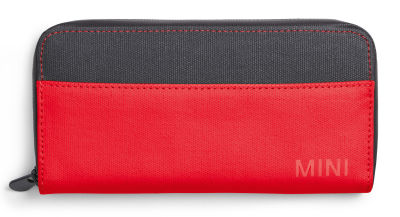 Мини кошелек MINI Colour Block Wallet, Coral/Grey