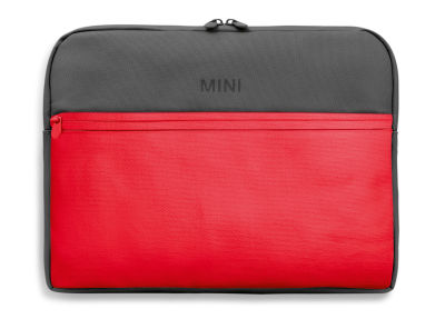 Сумка для ноутбука MINI Colour Block Laptop Sleeve, Coral/Grey