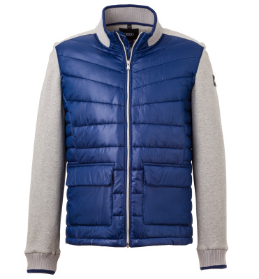 Мужская куртка Audi Hybrid Jacket, Mens, grey/blue