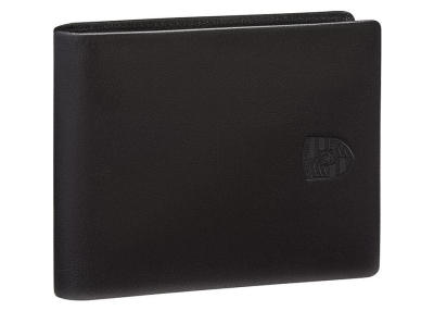 Мужской кожаный кошелек Porsche Wallet without Coin Compartment, Men, RFID, Black