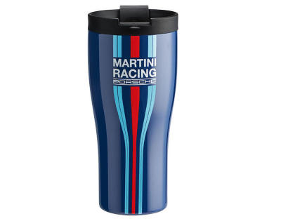 Термокружка Porsche Thermal Beaker, Martini Racing, Blue