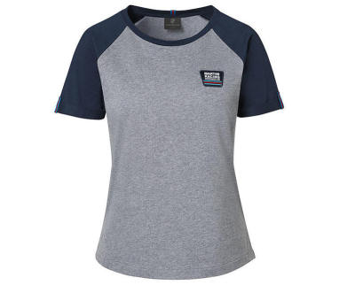 Женская футболка Porsche T-shirt, Ladies, Martini Racing, Grey/Blue