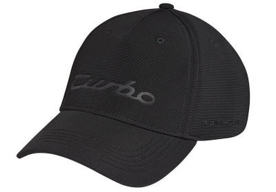Бейсболка Porsche Baseball Cap Turbo, Unisex, Black