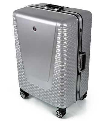 Большой чемодан Jaguar Hard Case Large Suitcase, Silver