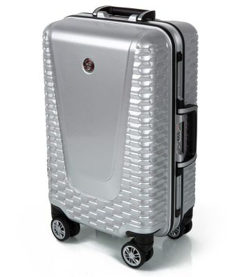 Компактный чемодан Jaguar Hard Case Small Suitcase, Silver