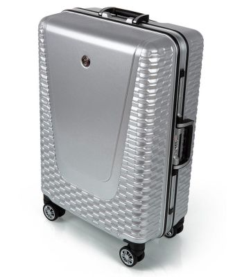 Чемодан Jaguar Hard Case Medium Suitcase, Silver