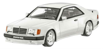 Модель Mercedes-Benz E-Class 300CE AMG 6.0L Coupe (C124) 1986, White, 1:18 Scale