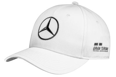 Детская бейсболка Mercedes F1 Children's Cap Lewis Hamilton, Edition 2018, White