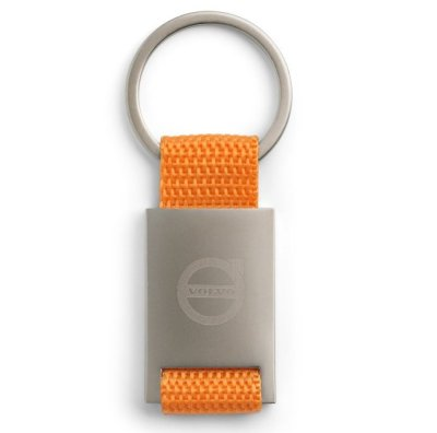 Брелок Volvo Key Ring, Satin Orange