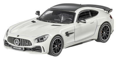 Модель Mercedes-AMG GT R (C190), Coupé, Scale 1:43, Designo Diamond White