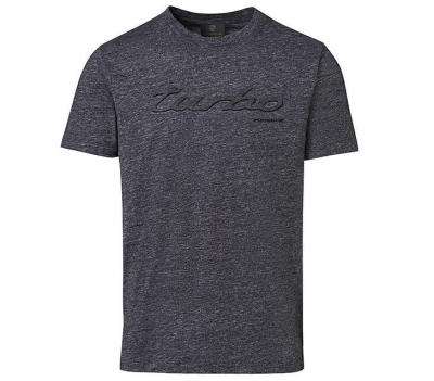 Мужская футболка Porsche Turbo T-shirt, Men's, Essential, Mottled Grey