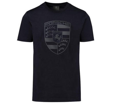 Мужская футболка Porsche Crest T-Shirt, Men's, Essential, Black