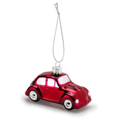 Елочная игрушка Volkswagen Decoration Christmas Beetle, Red