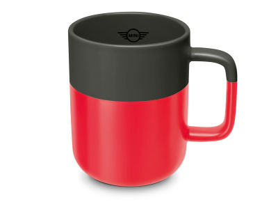 Кружка MINI Colour Dip Cup, Coral/Grey