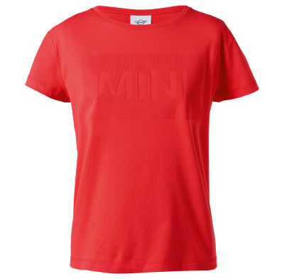 Женская футболка MINI Wordmark T-Shirt Women's, Coral