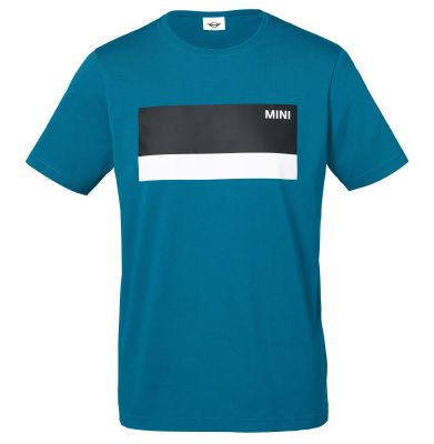 Мужская футболка MINI Wordmark T-Shirt Men's, Island/White/Black