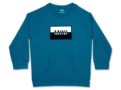 Детская толстовка MINI Logo Patch Sweatshirt Kids, Island