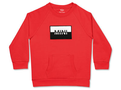 Детская толстовка MINI Logo Patch Sweatshirt Kids, Coral