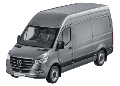Модель Mercedes-Benz Sprinter, Panel Van, Selenite Grey, Scale 1:18