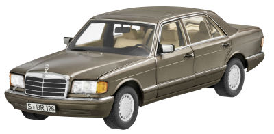 Модель автомобиля Mercedes 560 SEL, V 126, 1985-1992, Impala Brown, Scale 1:18