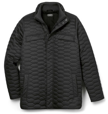 Мужская стеганая куртка Audi Quilted Jacket, Mens, Black