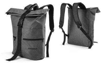 Рюкзак Skoda Backpack, Halfar, Grey Melange