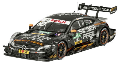 Модель Mercedes-AMG C 63 DTM, 2017, Team Silver Arrow Energy, Maro Engel, Scale 1:43