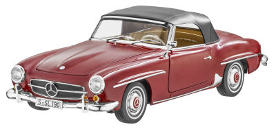 Модель Mercedes-Benz 190 SL, W 121 (1955-63), Medium Red, Scale 1:18