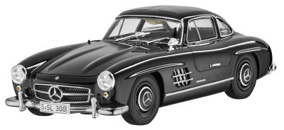 Модель Mercedes 300 SL Coupé W 198 (1954-1963), Black, 1:18 Scale