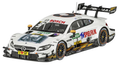 Модель Mercedes-AMG C 63 DTM, 2017, Team TV Spielfilm, Paul Di Resta, Scale 1:43
