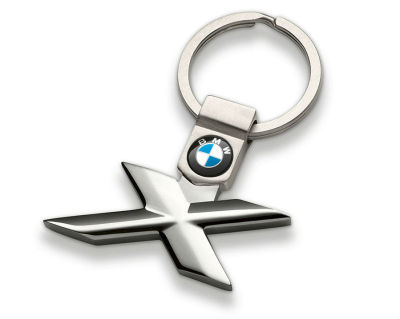 Брелок BMW X-Series Key Ring, Silver