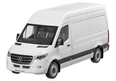 Модель Mercedes-Benz Sprinter, Panel Van, Arctic White, Scale 1:18