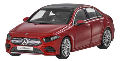 Модель Mercedes A-Class Saloon, Scale 1:43, Jupiter Red