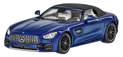 Модель Mercedes-AMG GT, Roadster, Brillant Blue, Scale 1:43