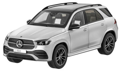 Модель Mercedes-Benz GLE (V167 series), Iridium Silver, Scale 1:18