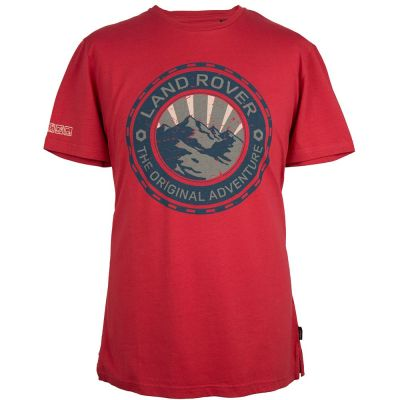 Мужская футболка Land Rover Men's Adventure Graphic T-Shirt, Red
