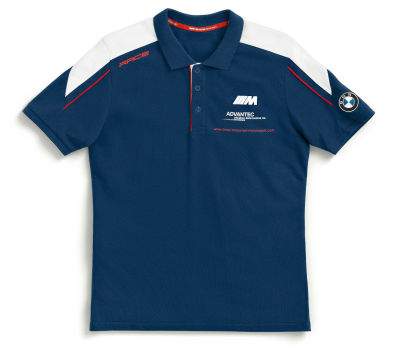 Мужская рубашка-поло BMW Motorrad Motorsport Polo-shirt, Men, Blue/White