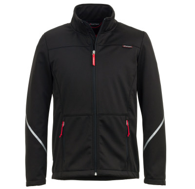 Мужская куртка Audi Sport Softshelljacket, Mens, black