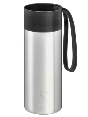 Термокружка Mercedes-Benz To-Go Cup, 0.5 l, silver-coloured