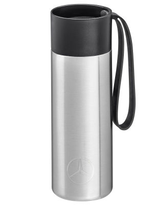Термокружка Mercedes-Benz To-Go Cup, 0.35 l, silver-coloured
