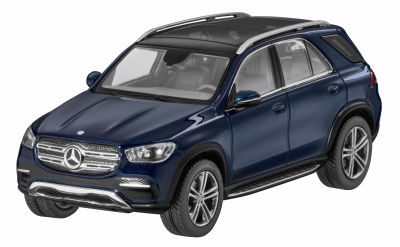 Модель Mercedes-Benz GLE, V167, Cavansite Blue, Scale 1:43